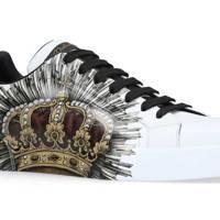 Portofino crown sneakers by Dolce & Gabbana