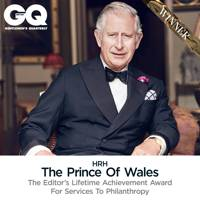 HRH The Prince of Wales -Editor's Lifetime Achievement Award For Services To Philanthropy