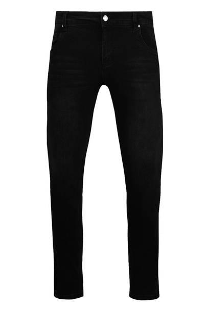 10. A pair of black slim-fit jeans