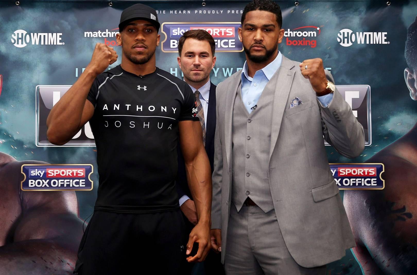 Anthony Joshua V Dominic Breazeale Headlines A Huge Night Of Boxing