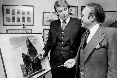 1972 - Donald Trump becomes the owner of The Trump Organization