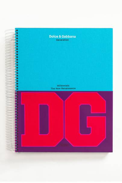 'D&G Millennials' book by Dolce & Gabbana