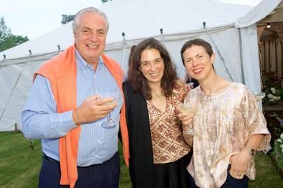 Rurik Ingram, Corisande Albert and Hilary Cottam