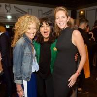 Kelly Hoppen, Claudia Winkleman and Felicity Blunt