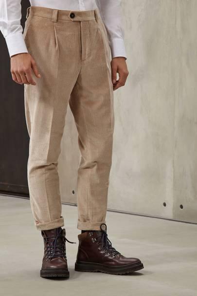 Brunello Cucinelli corduroy casual trousers