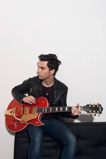 Kelly Jones, Lead Singer of Stereophonics, London, 2014