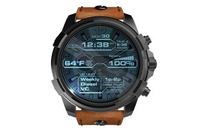 The Diesel On Full Guard smartwatch collection launches later this year at diesel.com.