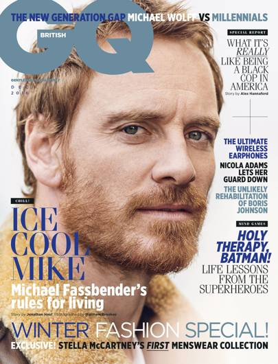 Michael Fassbender is our December cover star