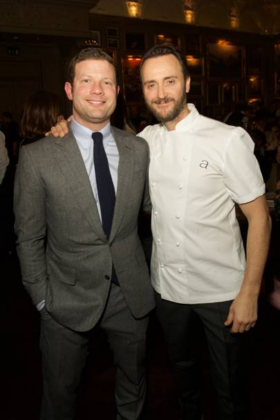 Dermot O'Leary and Jason Atherton