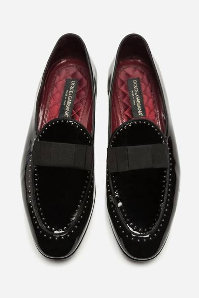 Patent loafers by Dolce & Gabbana