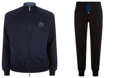 Custom tracksuit by Stefano Ricci (at Harrods)