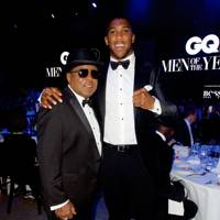 Tito Jackson and Anthony Joshua