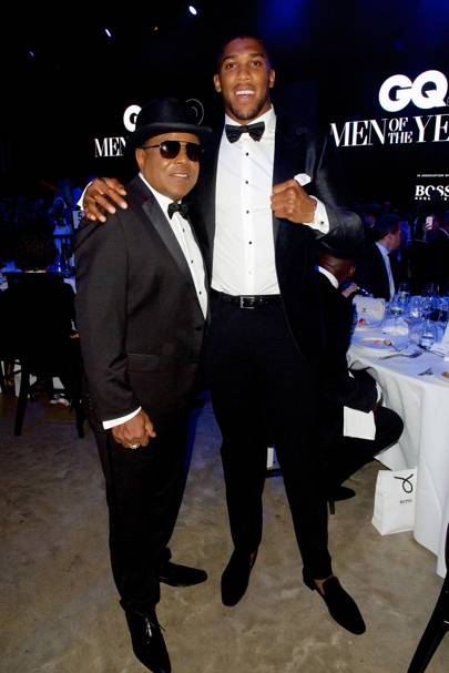 Tito Jackson and Anthony Joshua