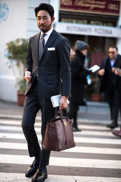 Men 39 S Street Style From Milan Fashion Week Autumn Winter 2017 British Gq