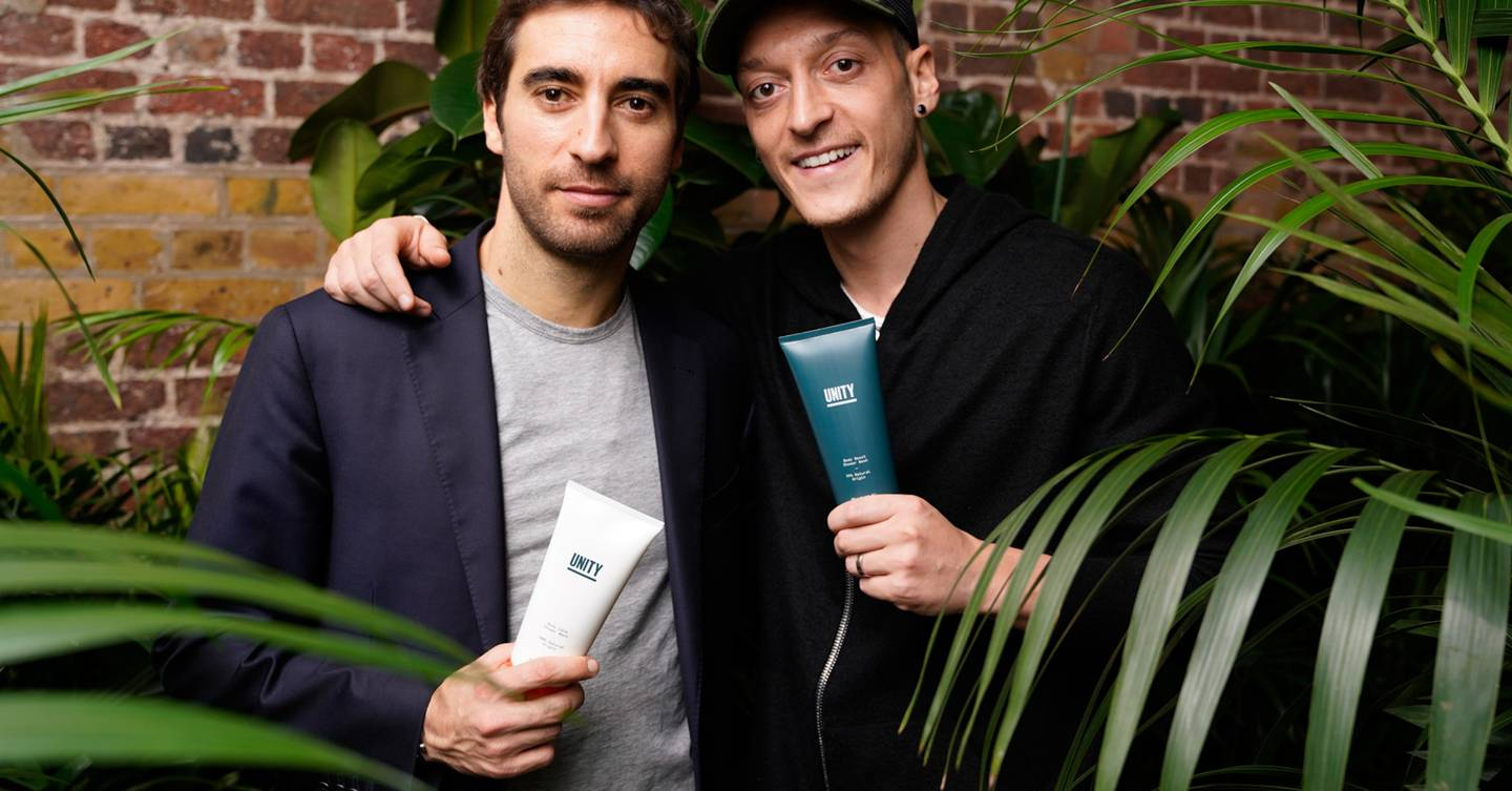 Mesut Özil launches grooming line Unity