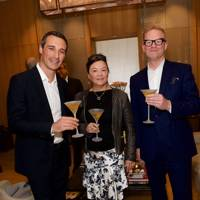 Matt Moscone, Cerentha Chow and Lance Perkins