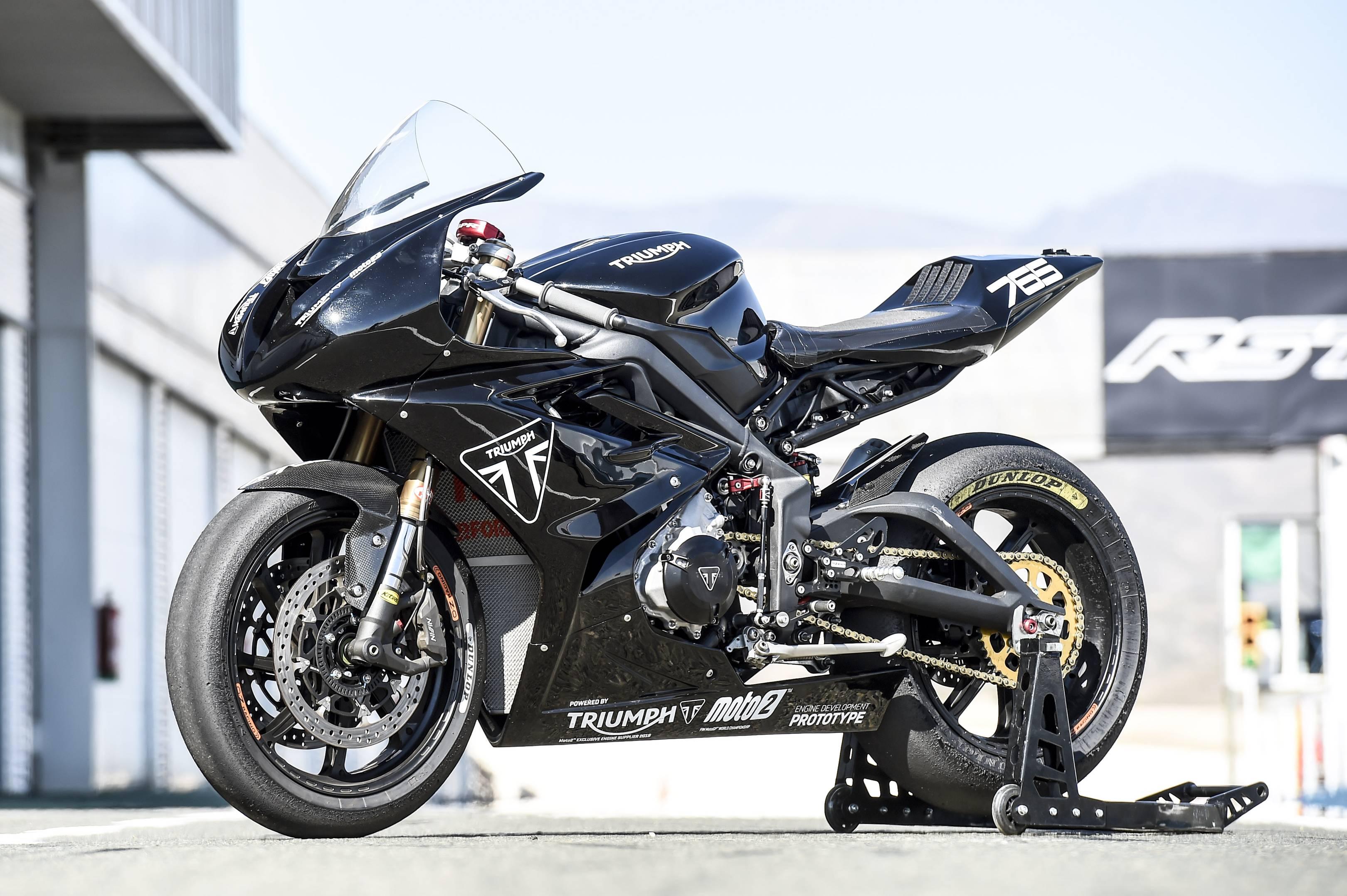 How Triumph Will Change Motogp With Its 765cc Moto2 Gp Bike British Gq