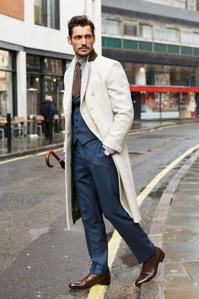 David Gandy, model