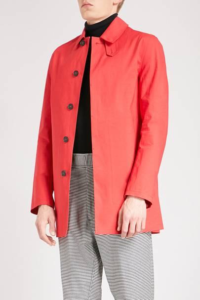 Car coat by Mackintosh