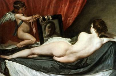 Venus at Her Mirror/The Rokeby Venus. Circa 1648. Oil on canvas