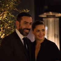 Robert Pires and Jessica Lemarie