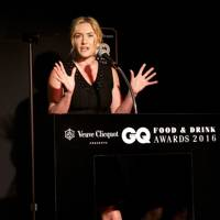 Kate Winslet on stage
