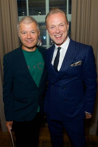 Alan Edwards and Gary Kemp