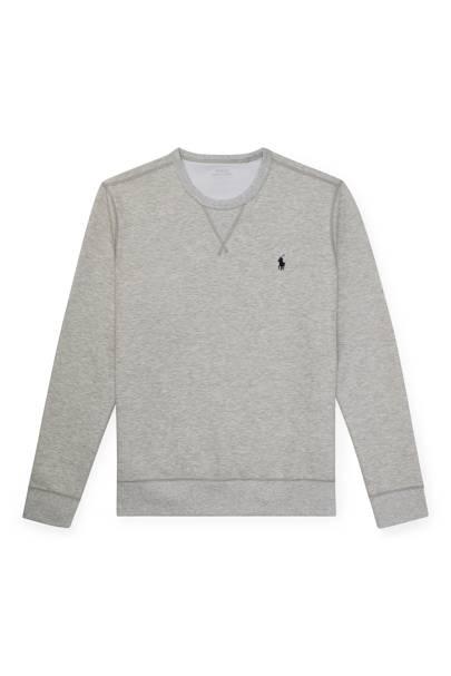 7. A grey marl sweatshirt