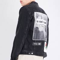 Helmut Lang x Travis Scott 'Smoke Patch' denim jacket