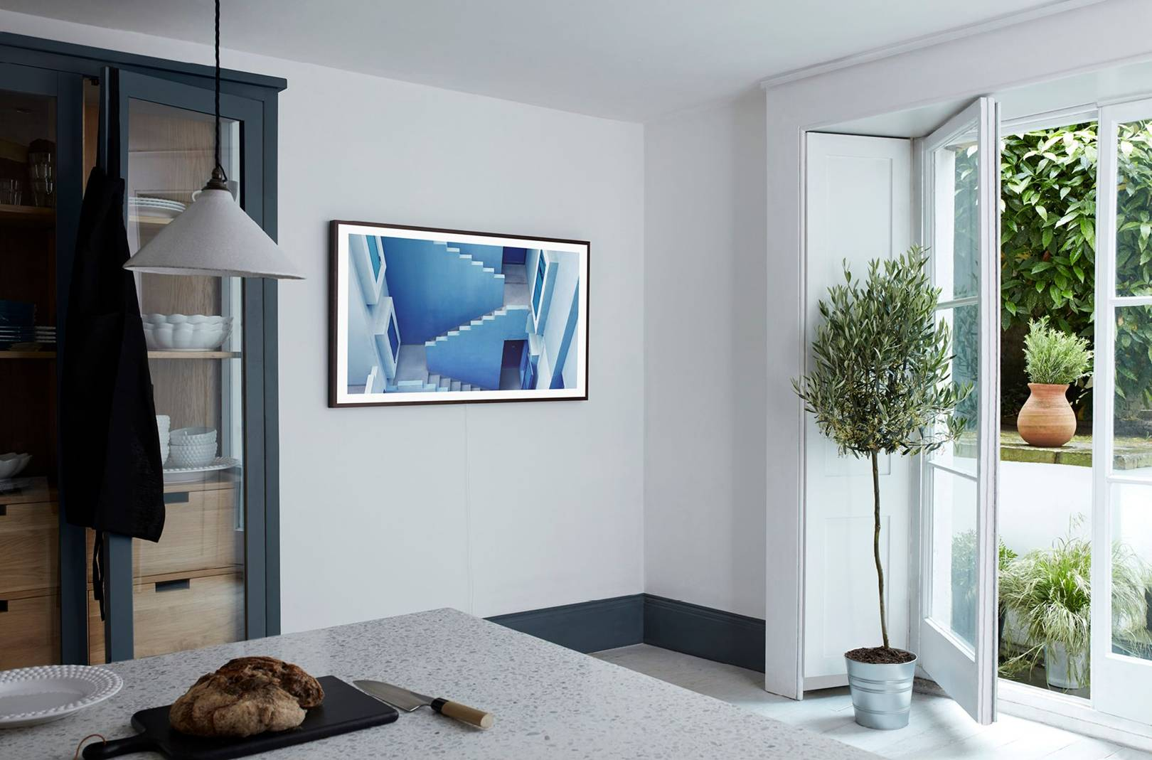 samsung frame qled and serif tvs revolutionise design british gq