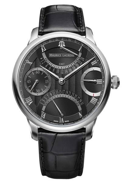 Masterpiece Double Retrograde watch by Maurice Lacroix