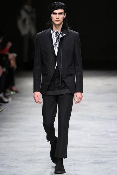 foto de Ann Demeulemeester Spring/Summer 2014 Menswear show report