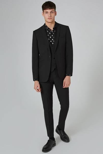 Three-piece tuxedo by Topman
