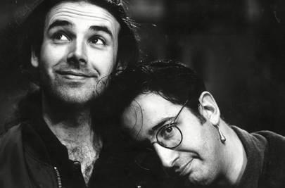 1993: Newman and Baddiel play Wembley Arena