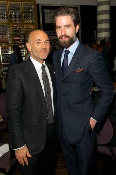 Jason Basmajian and Jack Guinness