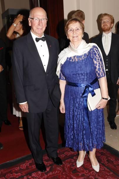 Sir Bobby Charlton & Norma Ball