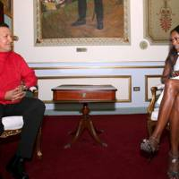February 2008 - Naomi Campbell interviews Hugo Chávez