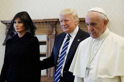 24 May 2017: Trump visiting the Pope