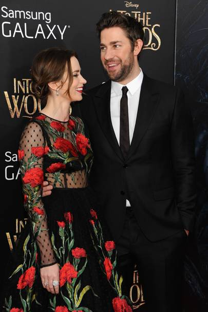 Fitting into the forest at the Into The Woods World Premiere