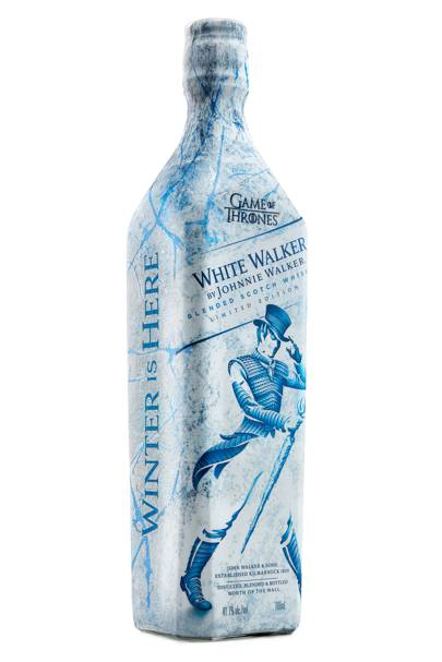 Game of Thrones x Johnnie Walker White Walkers Whisky
