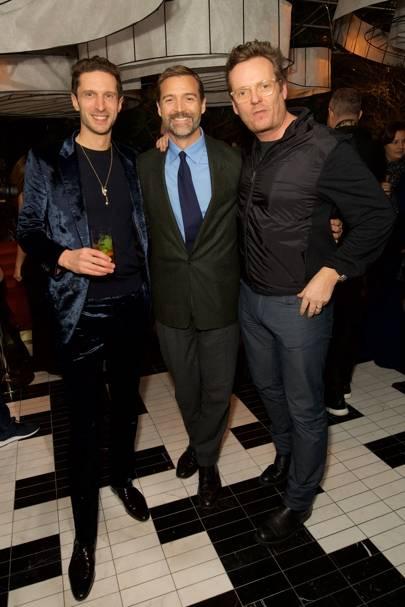 Jonathan Heaf, Patrick Grant and Jason Barlow