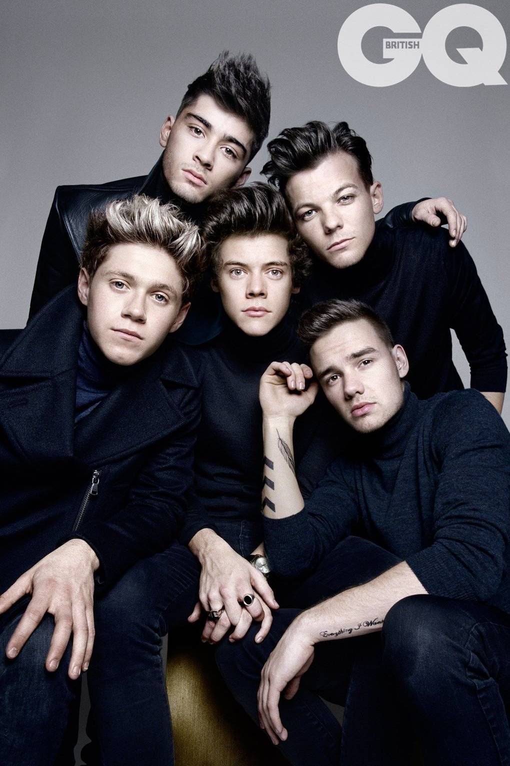 This one direction interview got us death threats british gq stopboris Image collections