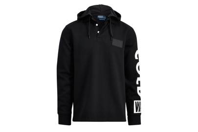 The hooded rugby shirt
