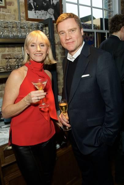 Tanya Hughes and Andrew Roberts