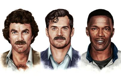 how to trim moustache styles