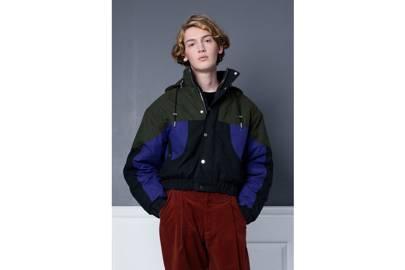 Waxed cotton ski jacket by 1x1 STUDIO