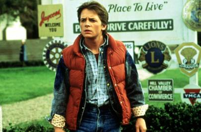 Last-minute Halloween costume: Marty McFly