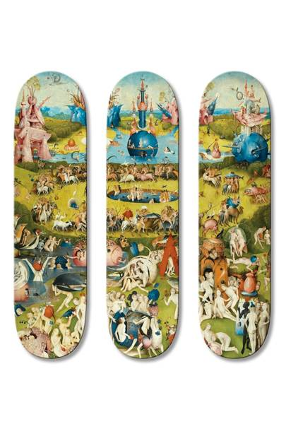 Triptych skateboards by Boom-Art