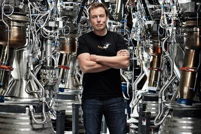 Elon Musk: 'SpaceX is in a different league to people like Richard Branson'