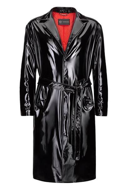 The vinyl coat
